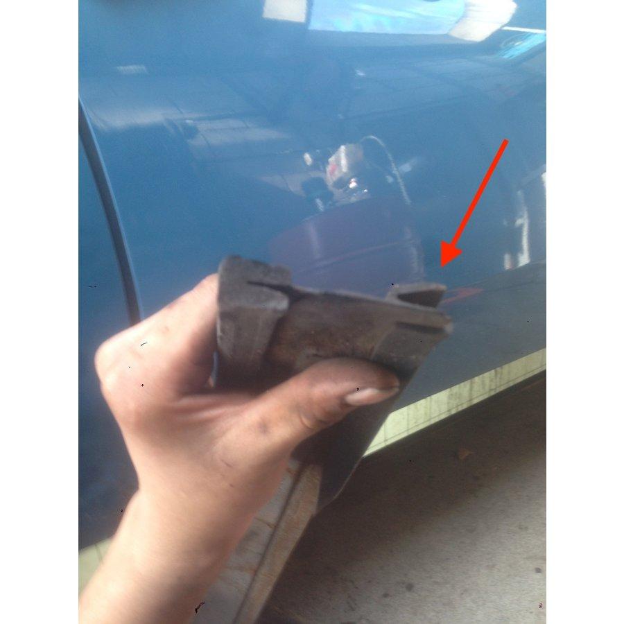 Z-rubber voor afdekplaat leidingen Citroën ID/DS-4