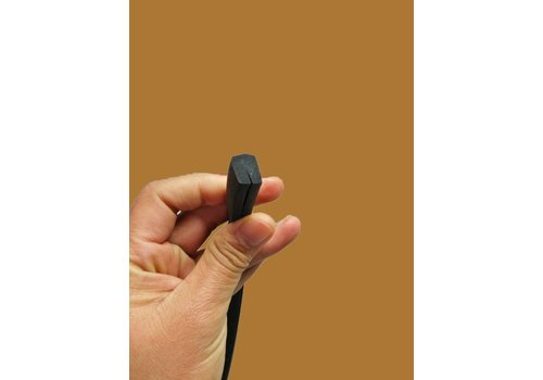 U shaped rubber/foam strip for sealing panels under sidemembers (4000) Citroën ID/DS