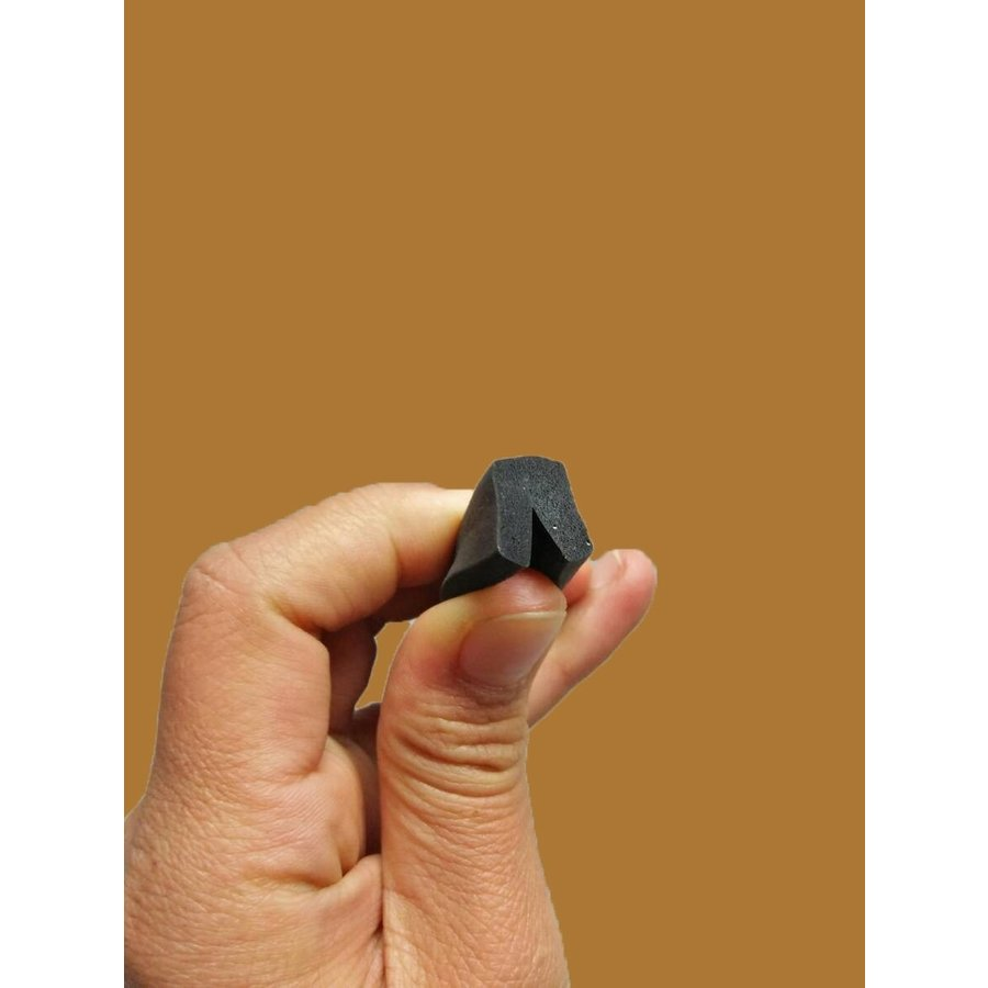 U shaped rubber/foam strip for sealing panels under sidemembers (4000) Citroën ID/DS-2