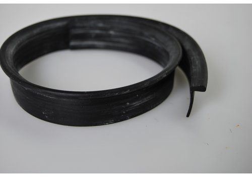 Rubber strip on closing panel of rear fender (L 590 mm) Citroën ID/DS