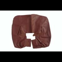 thumb-Garniture origine siège AV cuir rouge (assise dossier panneau de fermeture et housse pour repose-tête) Citroën SM-4