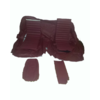 SM Original rear bench cover red leather (seat: 1 piece back: 4 pieces) Citroën SM