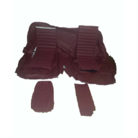 thumb-Original rear bench cover red leather (seat: 1 piece back: 4 pieces) Citroën SM-1