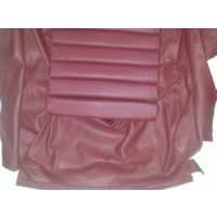 thumb-Original rear bench cover red leather (seat: 1 piece back: 4 pieces) Citroën SM-4