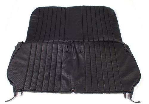 Achterbankhoes zwart skai voor inklapbare Dyane bank Citroën 2CV