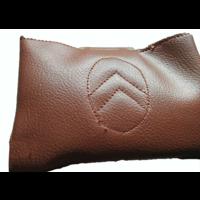thumb-Apoio central para braço, completo, com revestimento em couro sintético marrom,, Dyane, Ami, Visa, etc Citroën 2CV-4
