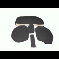 Revestimento para banco traseiro, tecido cinza, apoio de braço largo Citroën ID/DS