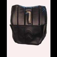thumb-Dämmverkleidung für Stirnwand schwarzes Kunstleder mit Bahnen mit Kartentasche (Citroën logo) Citroën HY-1