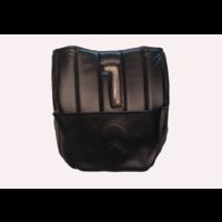 thumb-Dämmverkleidung für Stirnwand schwarzes Kunstleder mit Bahnen mit Kartentasche (Citroën logo) Citroën HY-2