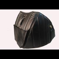 thumb-Dämmverkleidung für Stirnwand schwarzes Kunstleder mit Bahnen mit Kartentasche (Citroën logo) Citroën HY-3