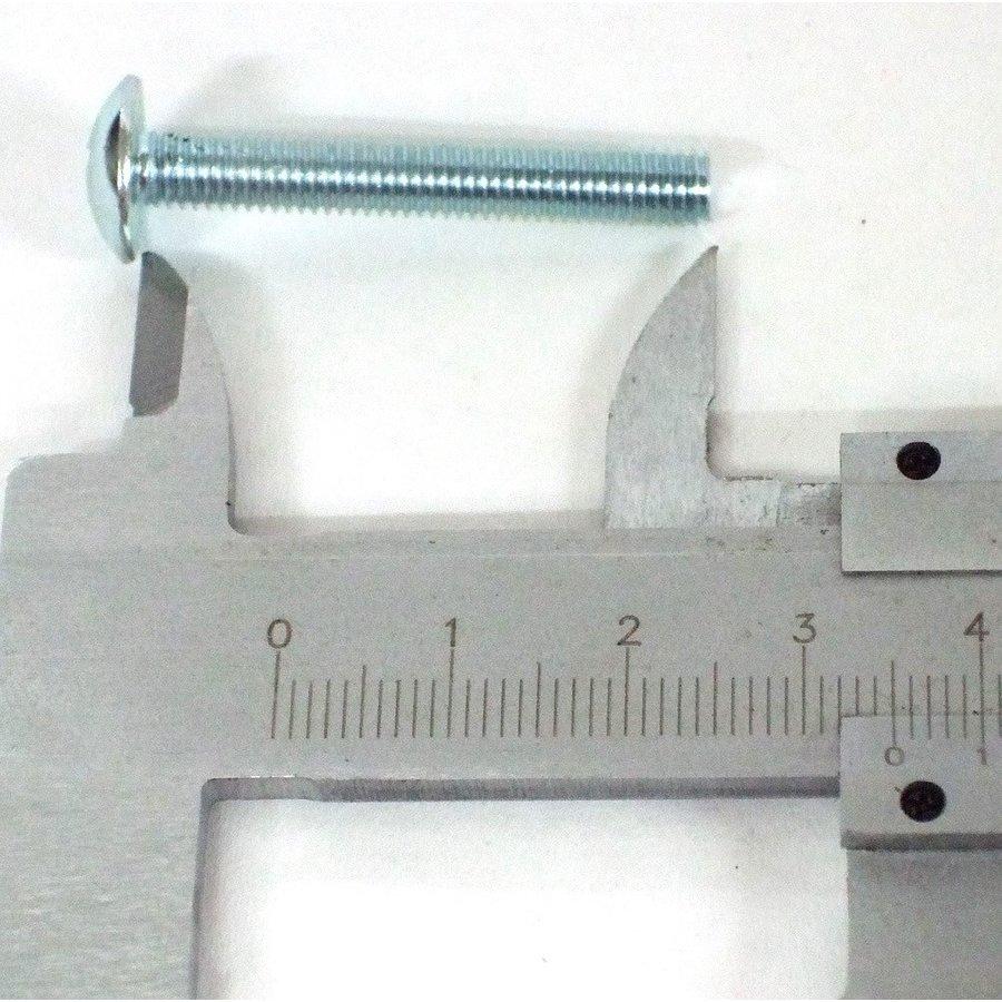 Parafuso M5 x 35 mm, galvanisado.-2