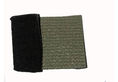 Revestimento do assoalho, PVC cinza claro, (preço por metro, largura = 1,40 metro).