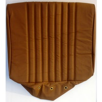 thumb-Front seat cover brown leather PROMOTION Citroën ID/DS-3