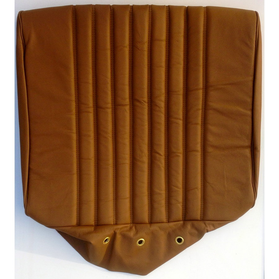 Front seat cover brown leather PROMOTION Citroën ID/DS-3