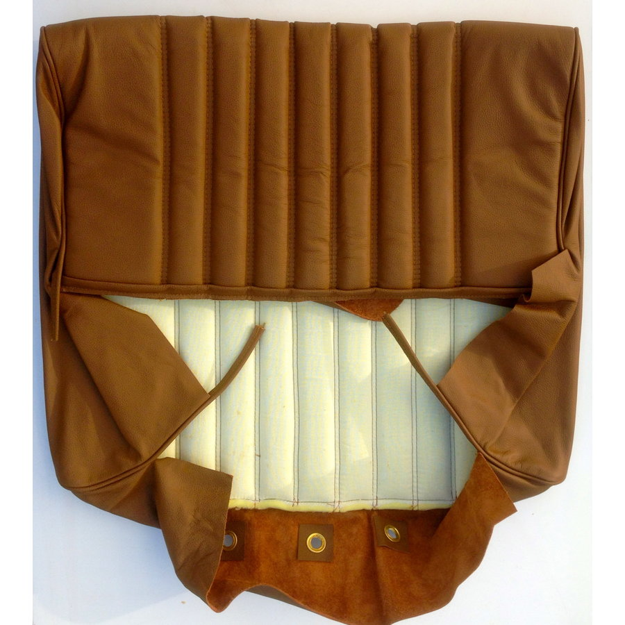 Front seat cover brown leather PROMOTION Citroën ID/DS-4