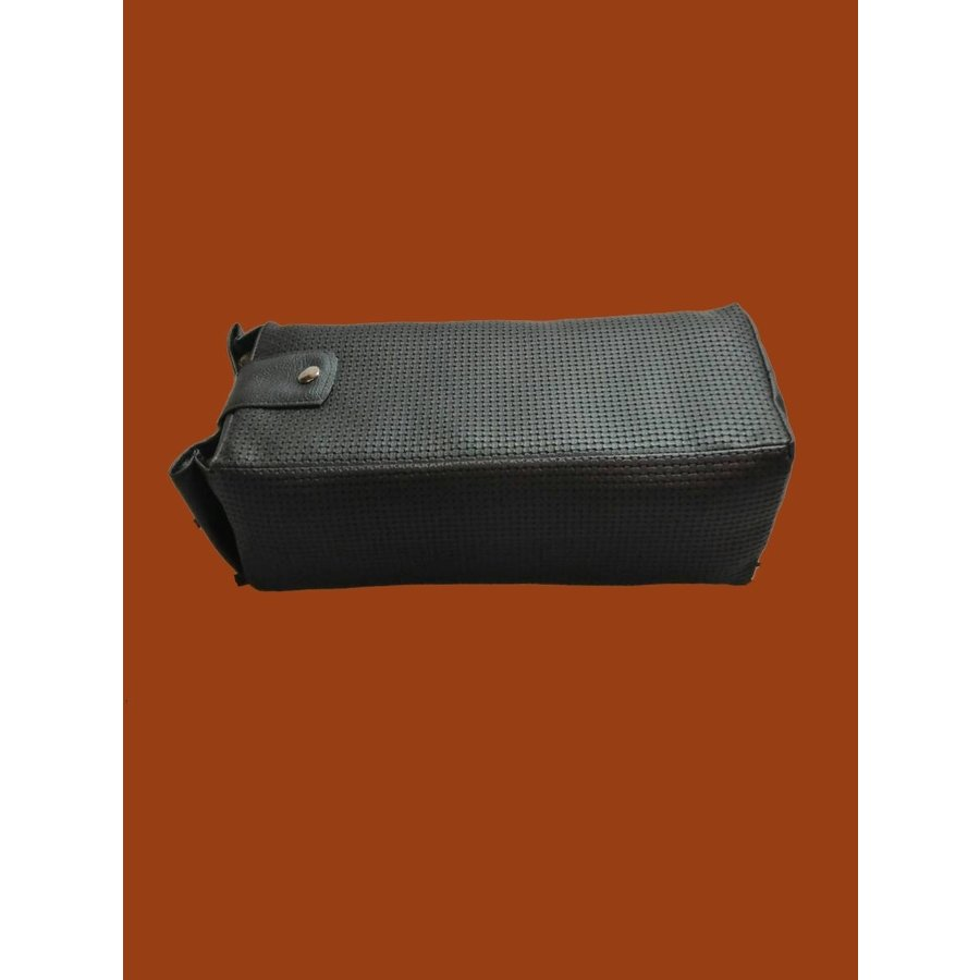 Central armrest black pvc for Dyane Ami Visa etc Citroën 2CV-1