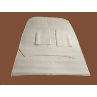 thumb-Floor mat Ami 6 in light gray material Citroën ID/DS-1
