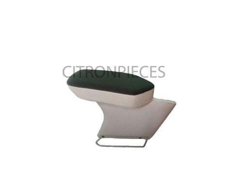 Central armrest green cloth Citroën ID/DS