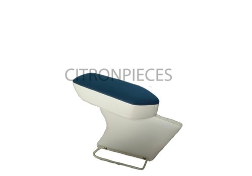 Central armrest blue cloth Citroën ID/DS