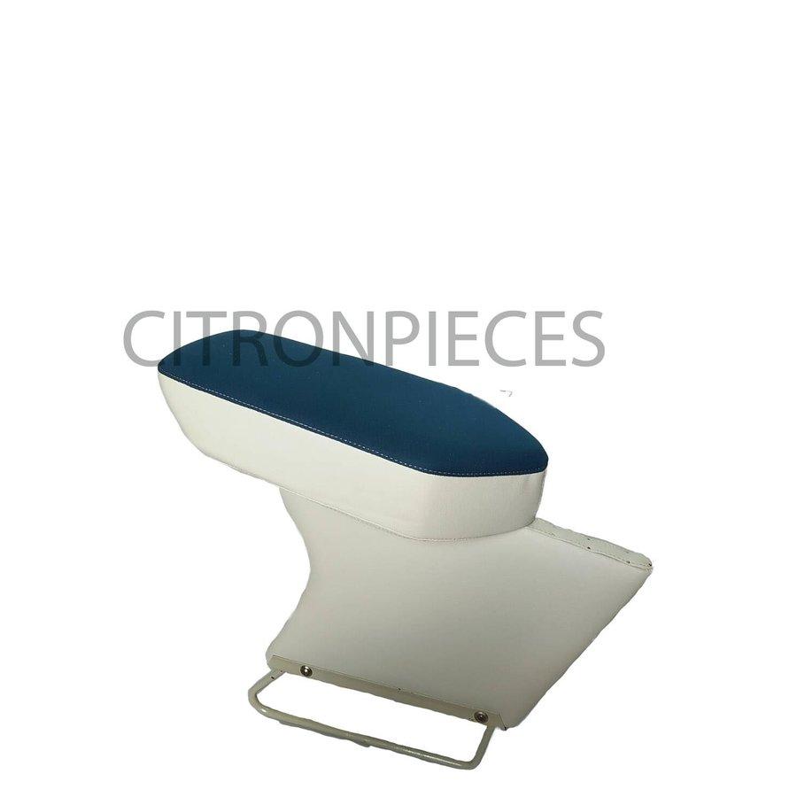 Central armrest blue cloth Citroën ID/DS-1
