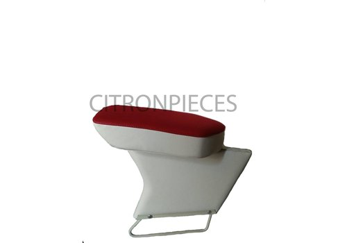 ID/DS Central armrest red cloth Citroën ID/DS