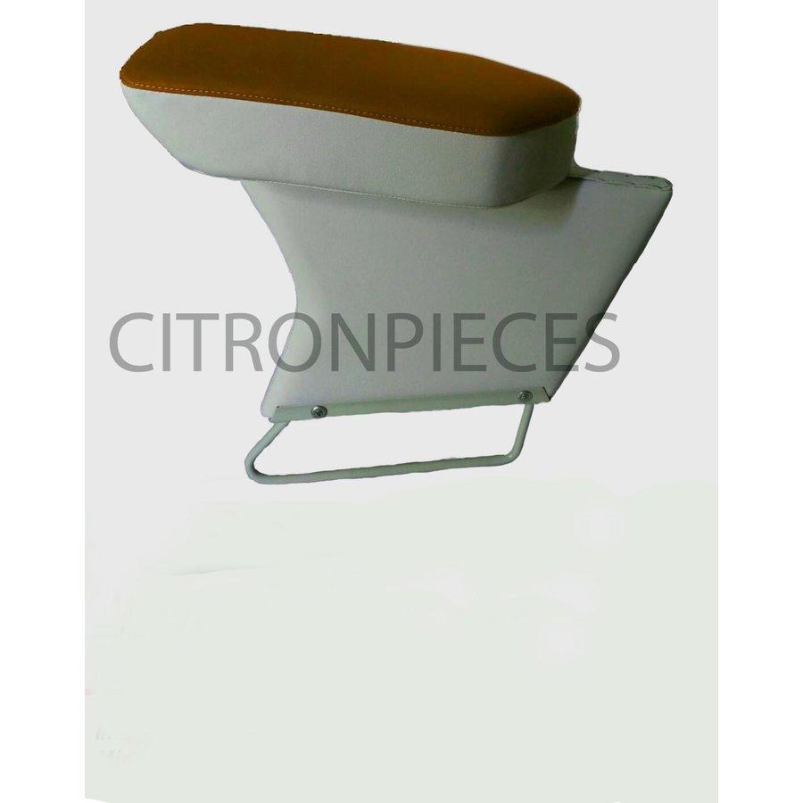 Central armrest caramel cloth Citroën ID/DS-1