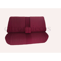 thumb-Rear bench fully mounted pallas 70-73 red cloth Citroën ID/DS-1