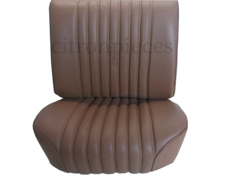 Front seat cover brown leather PROMOTION Citroën ID/DS