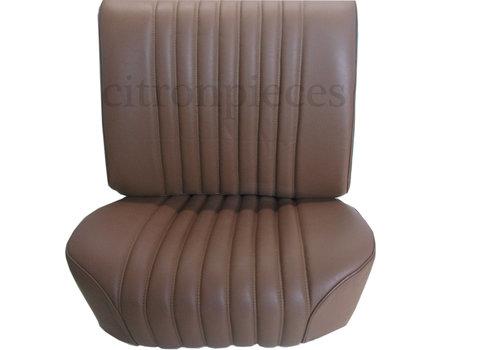 Garniture origine siège AV cuir marron PROMOTION Citroën ID/DS