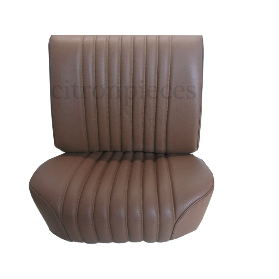 Front seat cover brown leather PROMOTION Citroën ID/DS-1