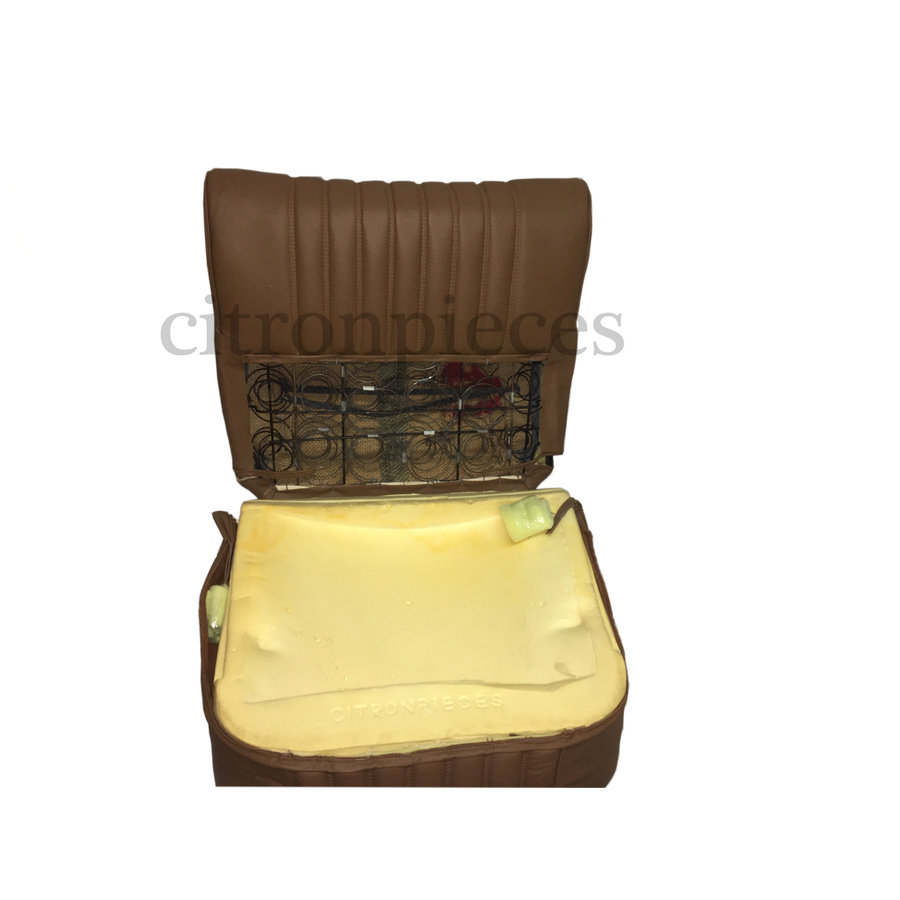 Half mounted front seat brown leather Citroën ID/DS-3