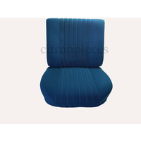Front seat fully mounted pallas 70-73 blue cloth Citroën ID/DS
