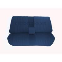 thumb-Achterbankhoes blauw stof gemonteerd Citroën ID/DS-1