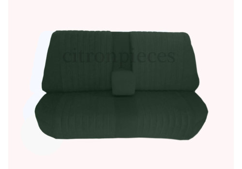 Rear bench fully mounted pallas 70-73 gray cloth Citroën ID/DS