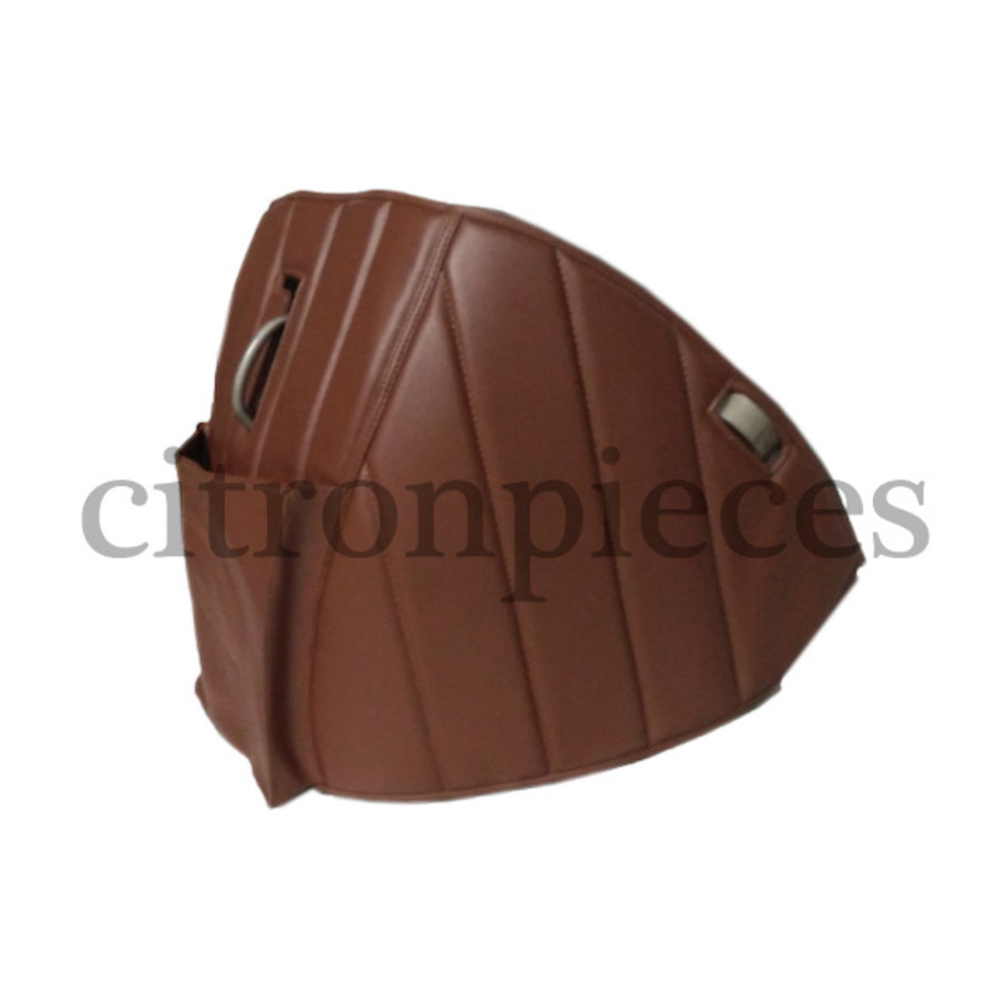Sound proofing cover recovering the motor separation unit brown leatherette Citroën HY-3