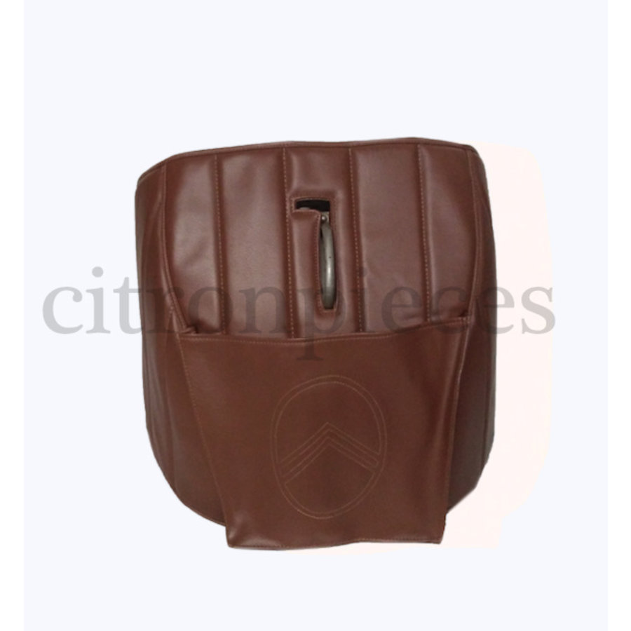 Sound proofing cover recovering the motor separation unit brown leatherette Citroën HY-1