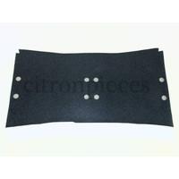 thumb-Vloerbekleding donker grijs onder voorstoelen Citroën ID/DS-1