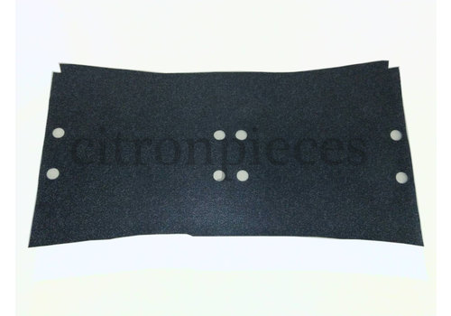 Vloerbekleding donker grijs onder voorstoelen Citroën ID/DS