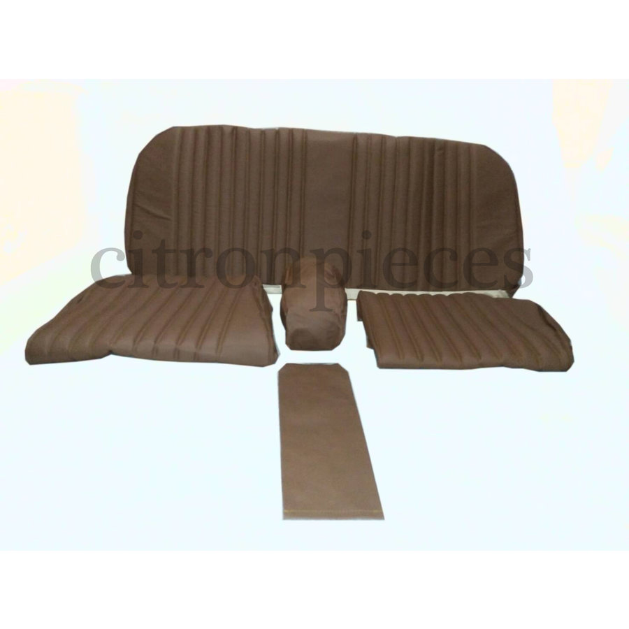 Rear bench cover brown leather PROMOTION Citroën ID/DS-1