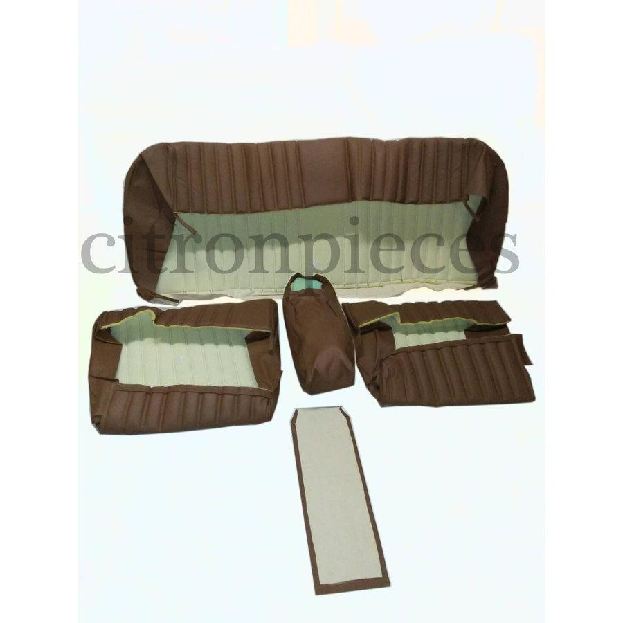 Garniture origine banquette AR BL cuir marron PROMOTION Citroën ID/DS-2