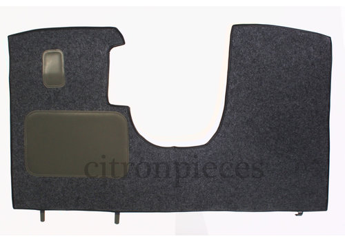 Tapete dianteiro cinza produção original (não Pallas mecânico) com espuma alveolada Citroën ID/DS