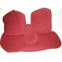 thumb-Sitzbezugsatz für Hinterbank Stoff-bezogen rot (1 Farbton): Sitz 1 Teil Rückenlehne 4 Teile Citroën ID/DS-3