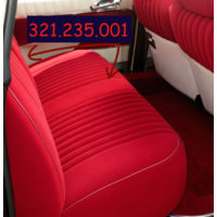 thumb-Cover set red fabric Pallas (WITHOUT WHITE  LEATHERETTE PIECE BEHIND FRONT SEAT) '69 Citroën ID / DS-5