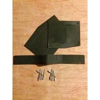 Jogo de borrachas (de guarnição) para pára-lama dianteiro 62-75 ID/DS com 10 rebites