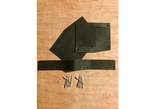 ID/DS Doorvoerrubberset stuurarm 62-75 ID/DS inkl. 10 popnagels