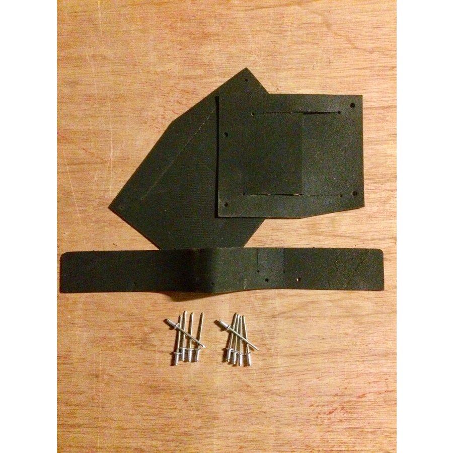 Jogo de borrachas (de guarnição) para pára-lama dianteiro 62-75 ID/DS com 10 rebites-1