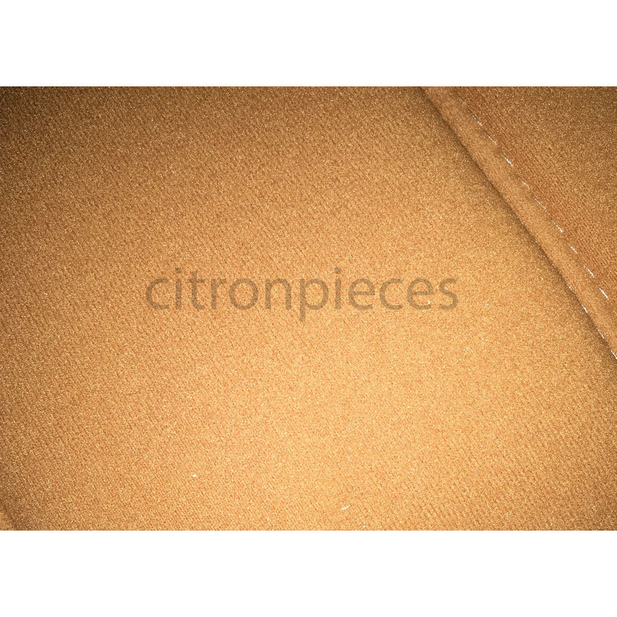 Front seat cover pallas from 69 ocher cloth Citroën ID/DS-2