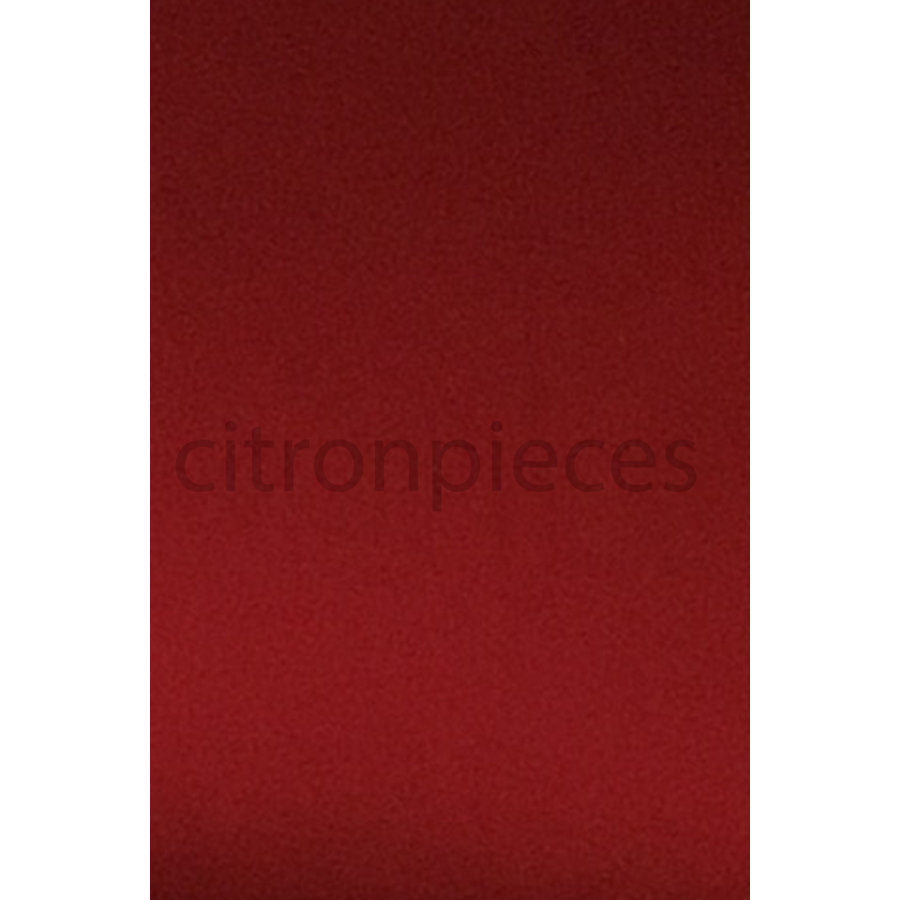 Front seat cover old model bright red cloth Citroën ID/DS,  till 9/68-2