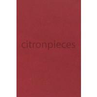 thumb-Sitzbezugsatz für Hinterbank Stoff-bezogen rot (1 Farbton): Sitz 1 Teil Rückenlehne 4 Teile Waffel-Modell Citroën ID/DS-1