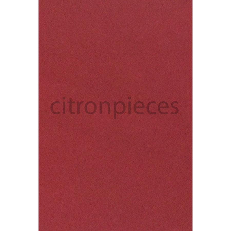 Garniture pour banquette AR en étoffe rouge unie pour assise 1 pièce dossier 4 pièces imprimé gauffre Citroën ID/DS-2